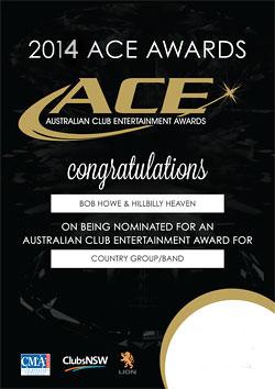 ACE 2014 certificate
