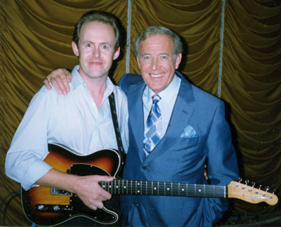 Bob Howe  and Val Doonican 1992