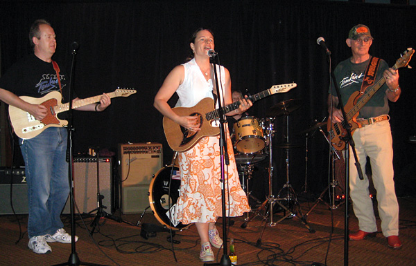 Audrey at the Tomkins Showcase in Nashville 2008
