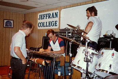 Bob Howe, Jeff Newman, Buddy Emmons 1984