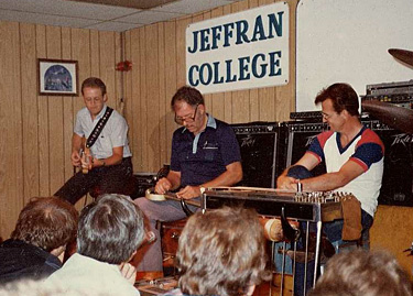 Bob Howe, DeWitt Scott, Jeff Newman 1984