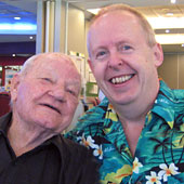 Milton and Bob in May 2016