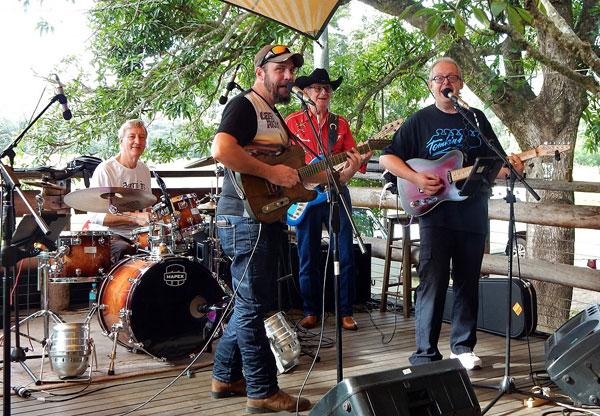 Tomkins Guitars All-Star Honky-Tonk Band