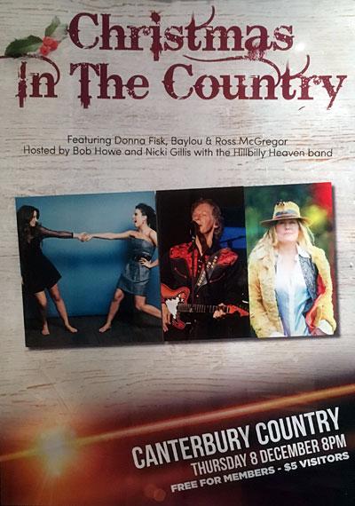 Canterbury Country poster Dec 2016