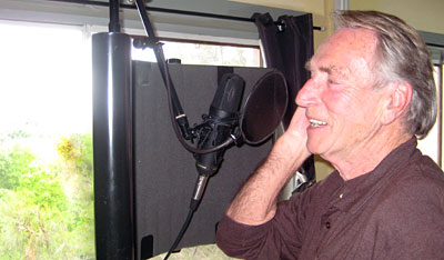 Frank Ifield recording at Kenilworth Studios