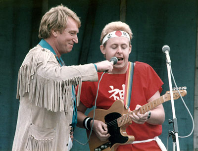 Frank Ifield and Bob Howe - 1985