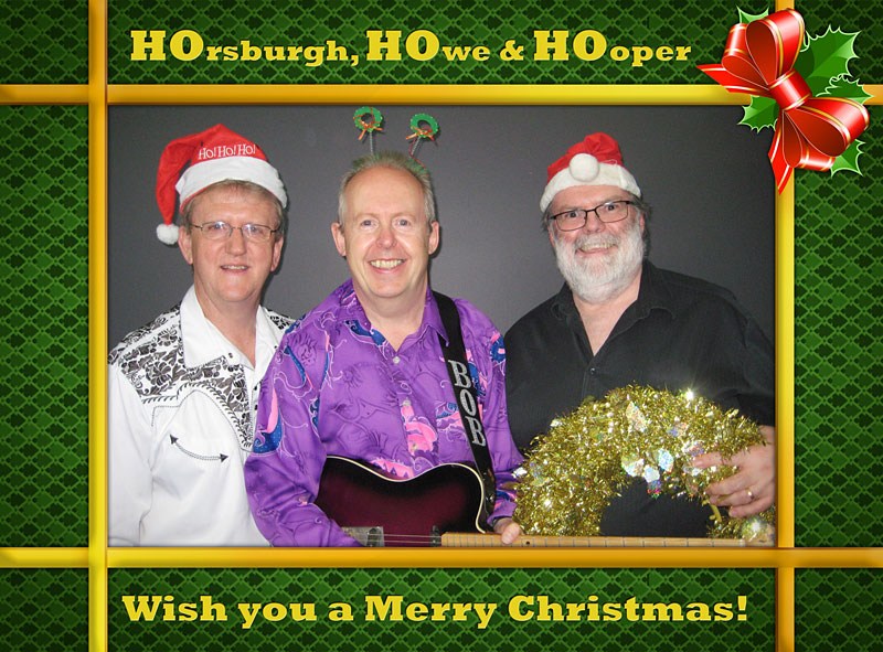 Ho Ho Ho - Christmas Card