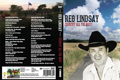Reg Lindsay DVD cover