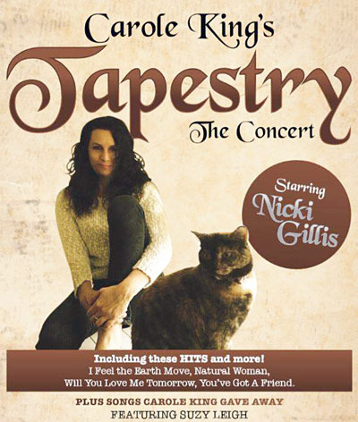 Tapestry - The Concert poster