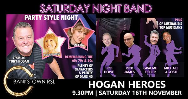 HOGAN-HEROES at Bankstown RSL
