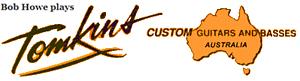 Tomkins Guitars Australia logo