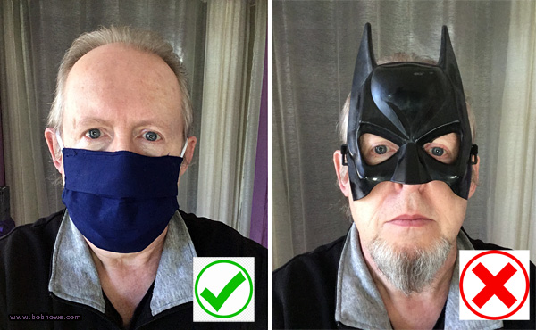 Bob says Wear a Mask
